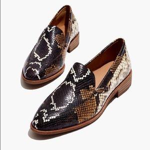 Madewell snakeskin loafer